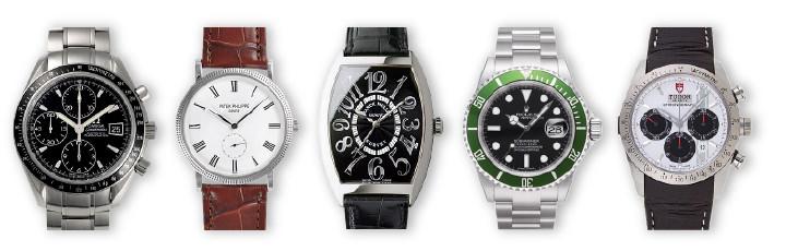 リサイクルショップ 腕時計 買取