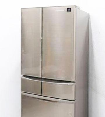 SHARP(シャープ) 6ドア冷蔵庫 プラズマクラスター SJ-XF44Y-T '14年製
