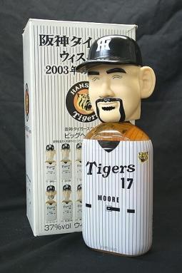 ウィスキー 阪神タイガース2003年の戦士達 17番★ムーア★