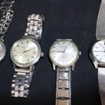 SEIKO他 アンティーク腕時計 4ヶセット 機械式 ★買取いたしました!