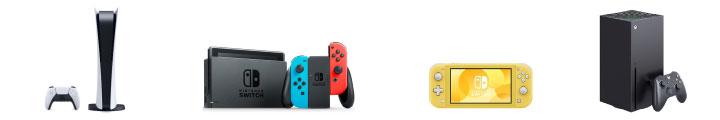 プレイステーション5、Nintendo Switch、Nintendo Switch Lite、Xbox Series X などの最新ゲーム機買取ります。